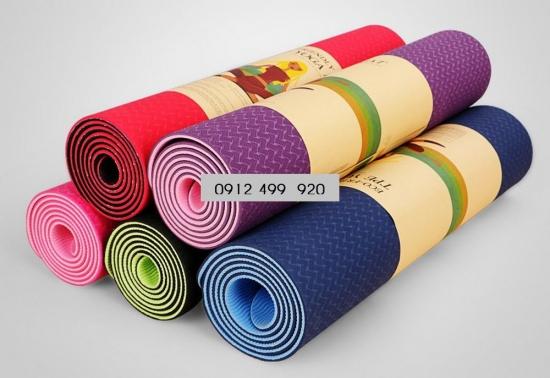 Thảm tập yoga TPE ECO Friendly